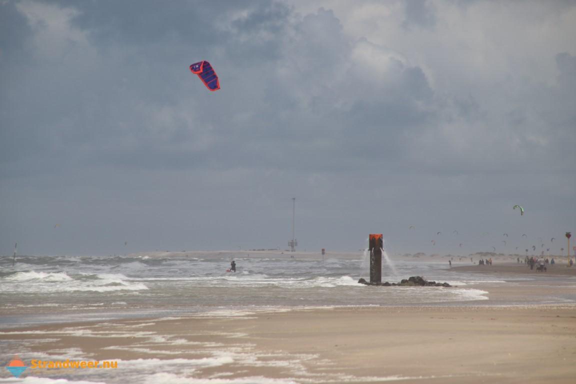 Het strandweer voor het 1e weekend van juli
