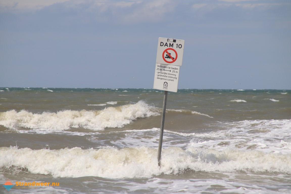 Het strandweer voor woensdag 16 december