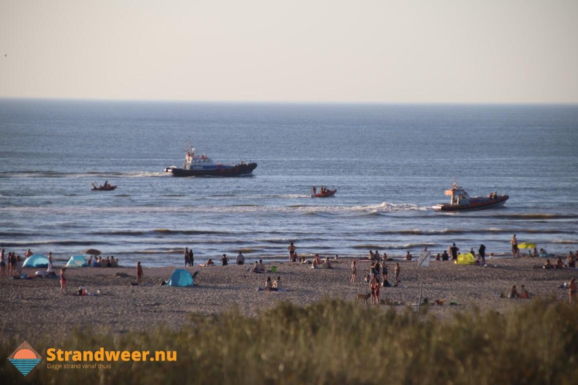 Vermiste zwemmer zandmotor nog niet gevonden