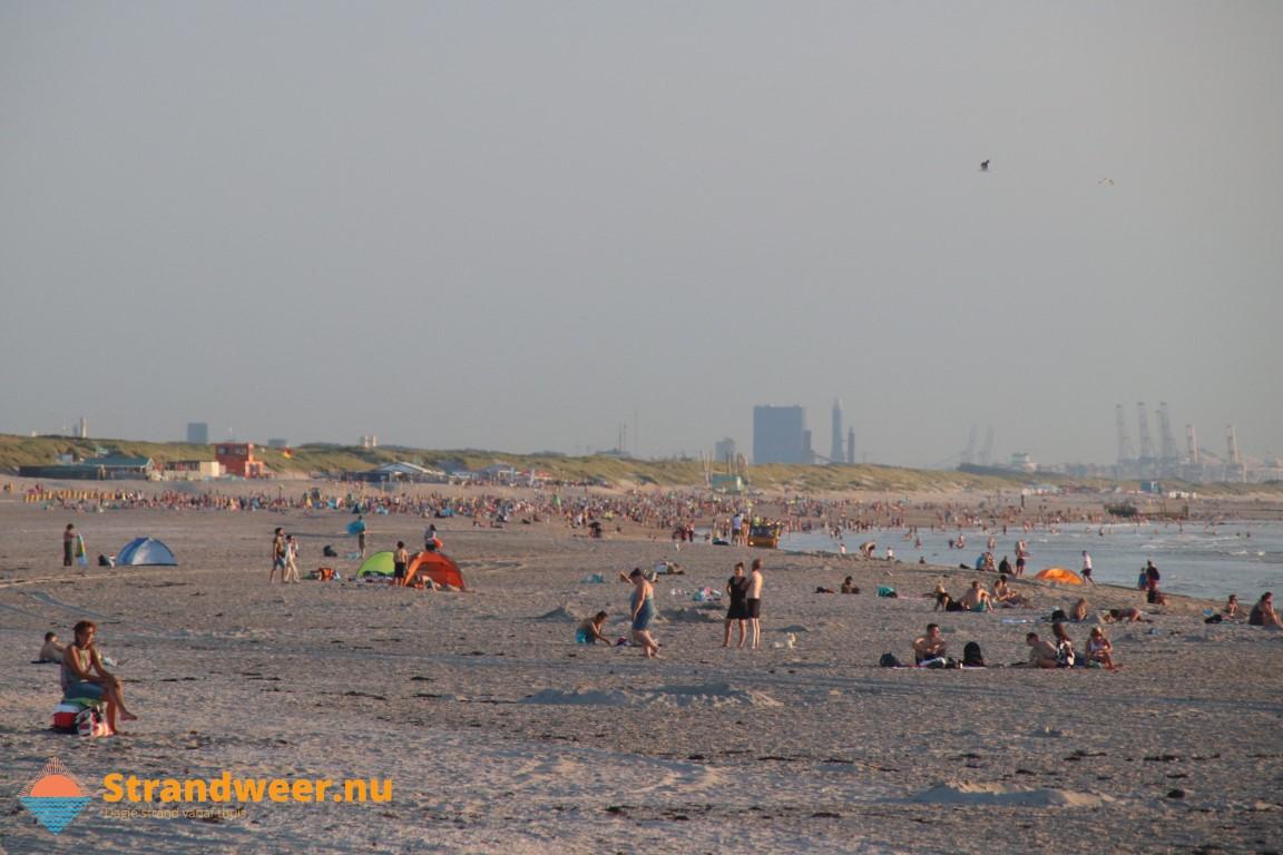 Het strandweer voor het eerste weekend van augustus