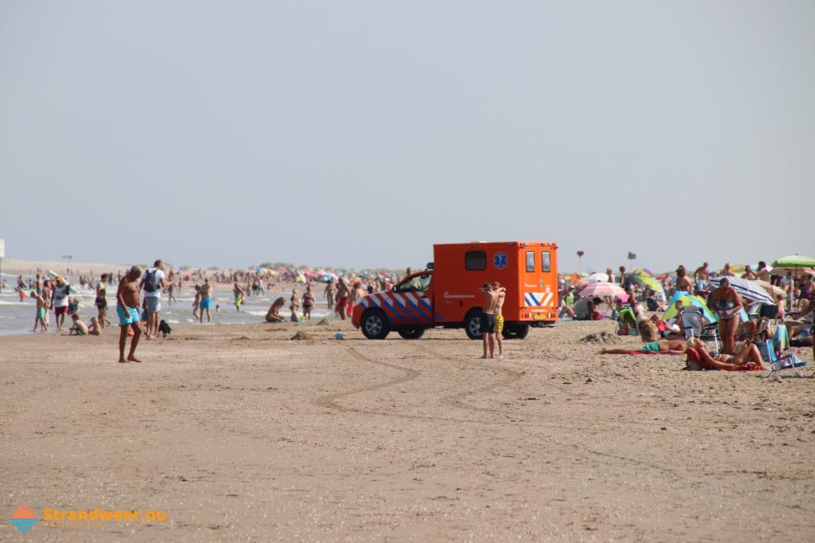 Hittegolf temperde omzetdaling strandhoreca