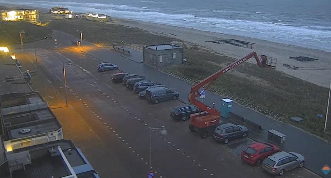 Het strandweer voor woensdag 11 maart