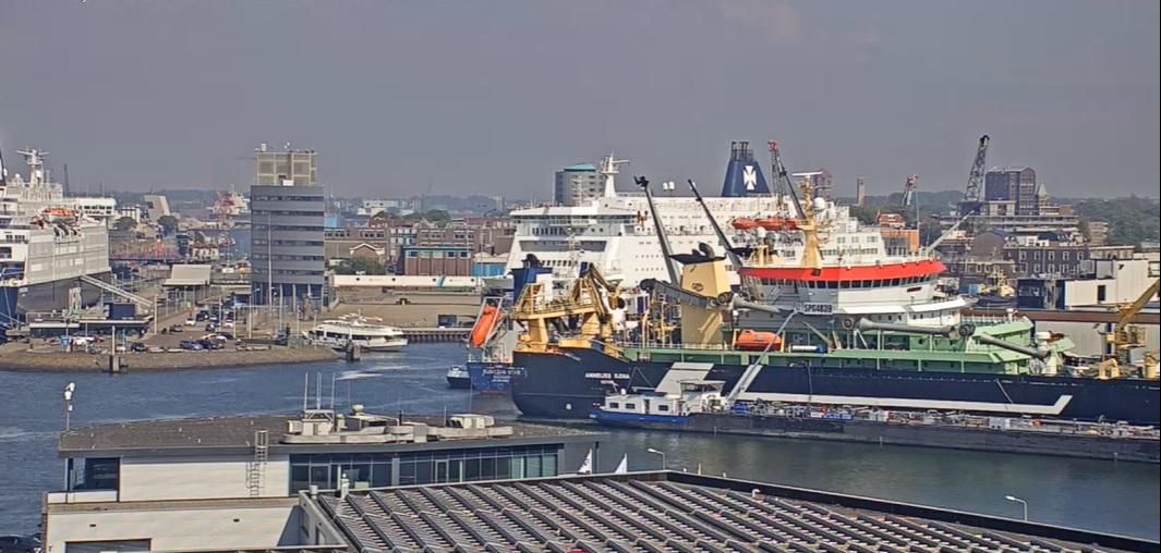 Daling aantal inklimmers in Nederlandse havens