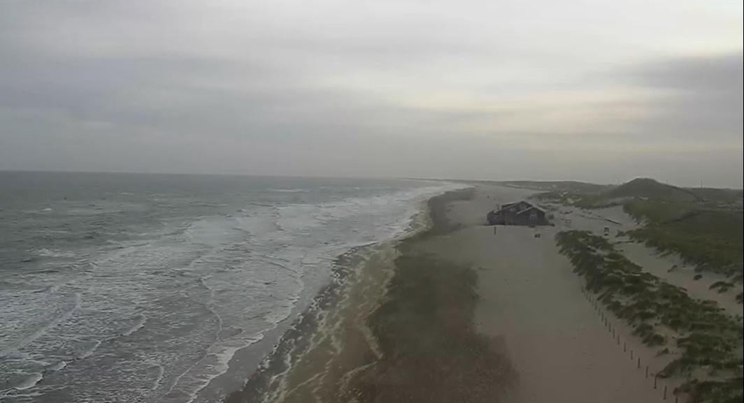 Het strandweer voor het 4e weekend van mei