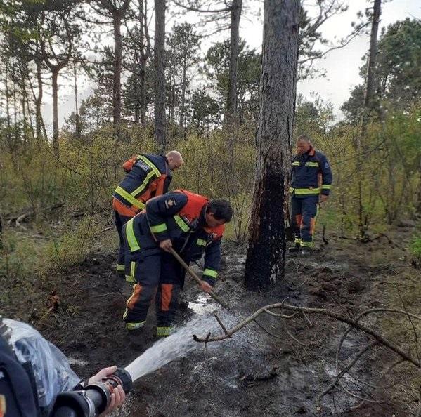 Tweede duinbrand bij Noordwijk