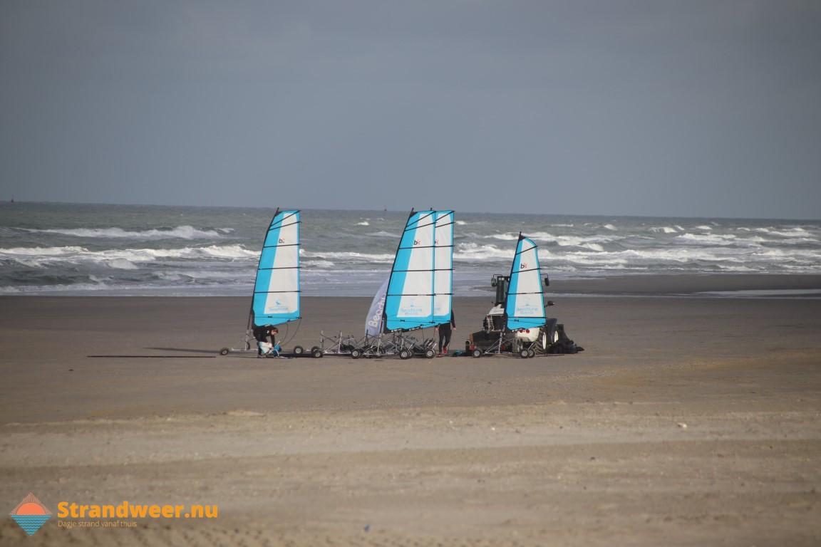 Het strandweer voor het 3e weekend van februari