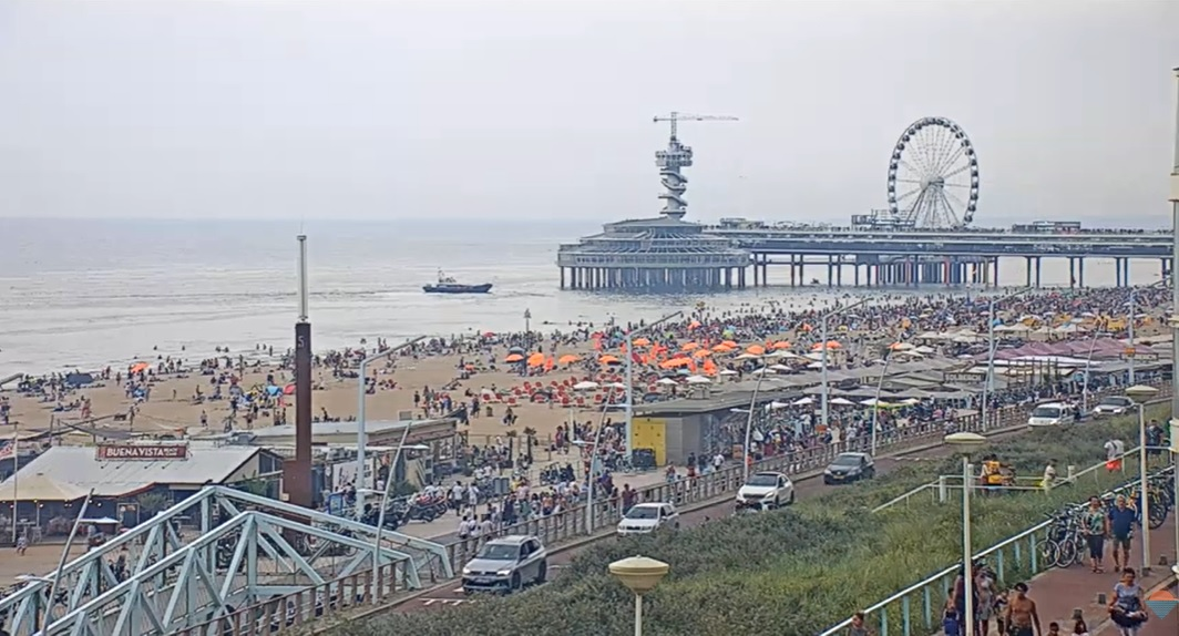 Het strandweer voor zondag 9 augustus