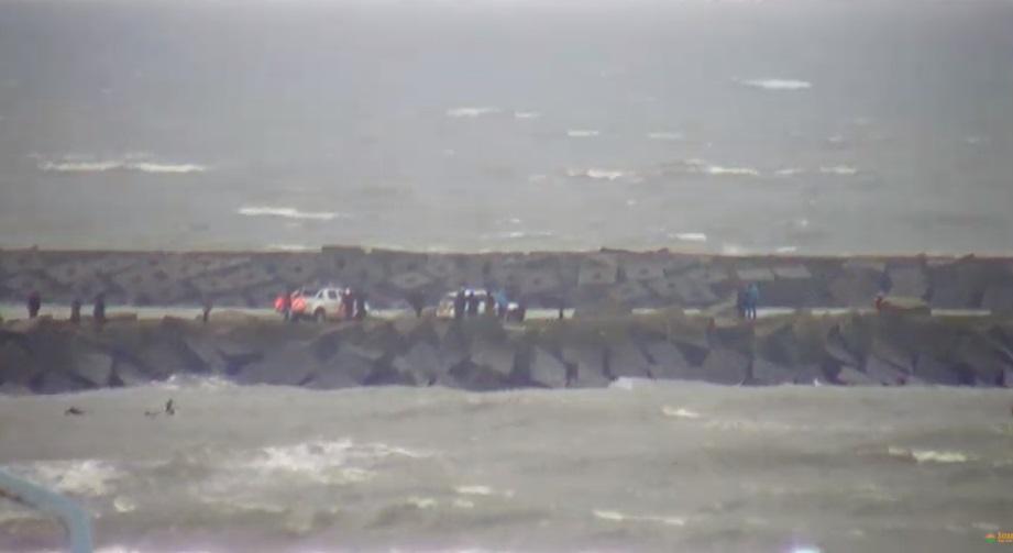 Het strandweer voor maandag 13 januari