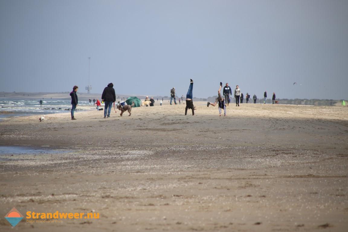 Het strandweer voor donderdag 30 april