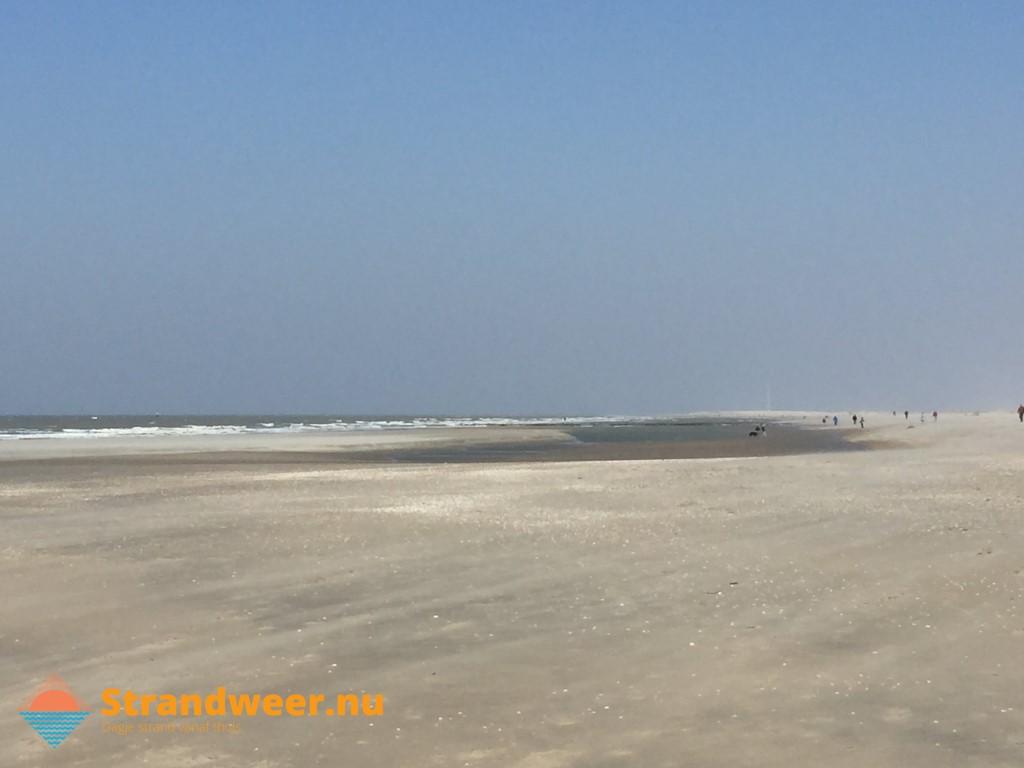 Het strandweer voor het laatste weekend van maart