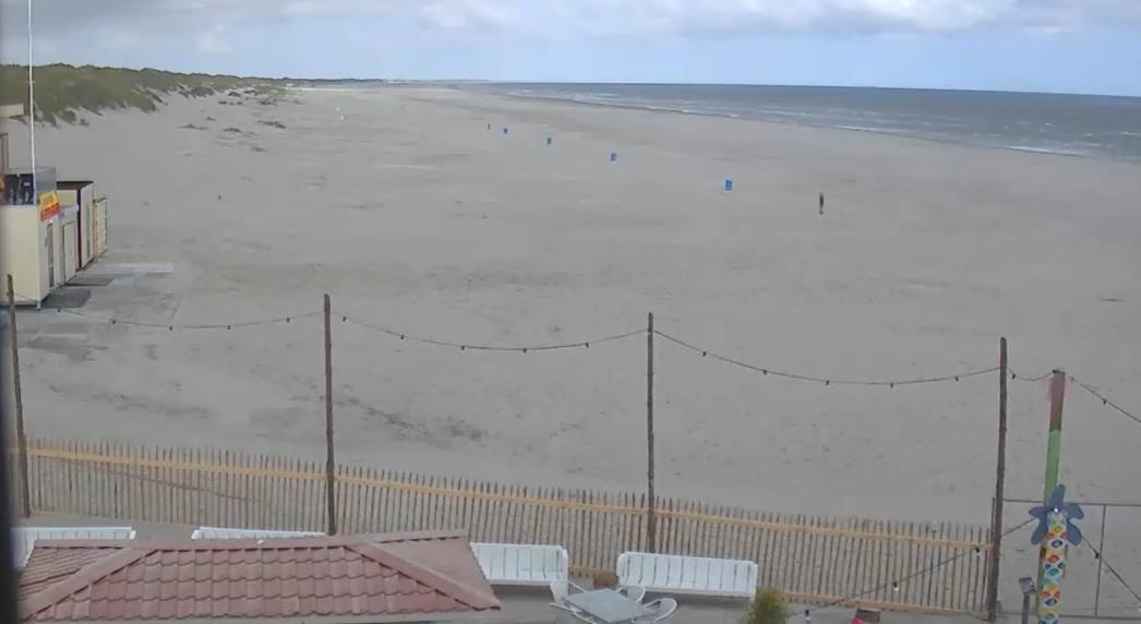Het strandweer voor 1e zomerweekend in 2020