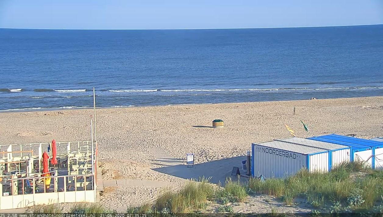 Het strandweer voor de eerste zomerdag van 2020