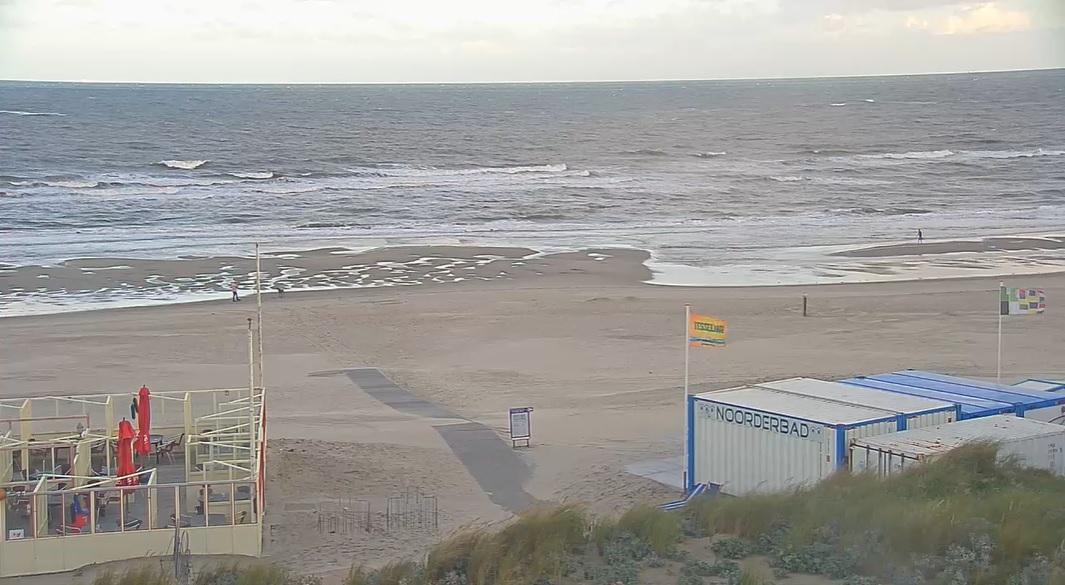 Het strandweer voor dinsdag 28 juli
