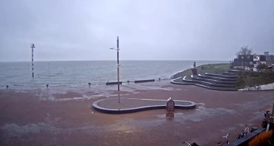 Het strandweer voor de laatste dag van oktober