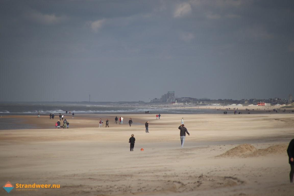 Het strandweer voor maandag 16 november