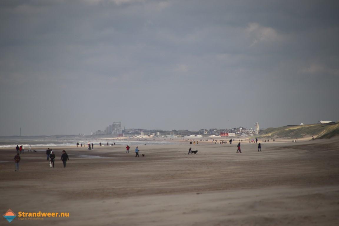 Het strandweer voor donderdag 26 november