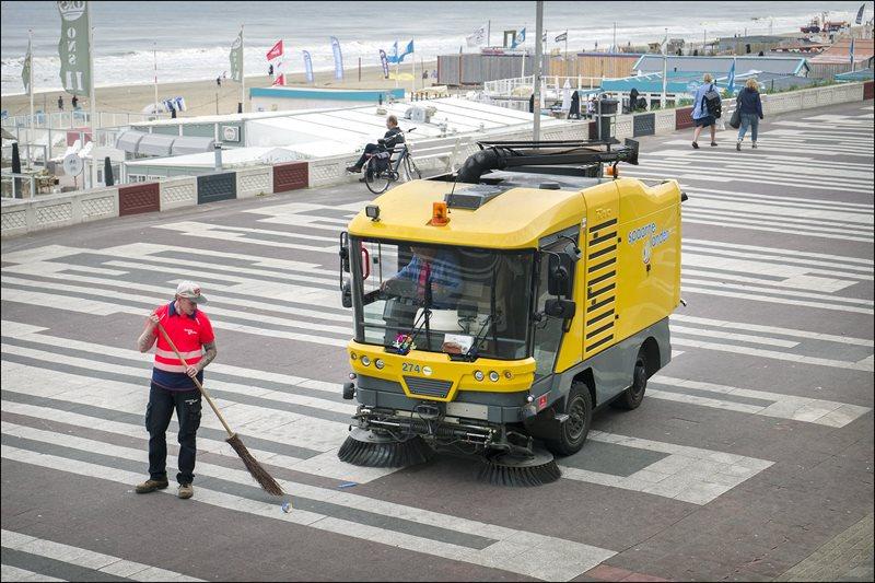 Spaarnelanden neemt afvalinzameling in Zandvoort over