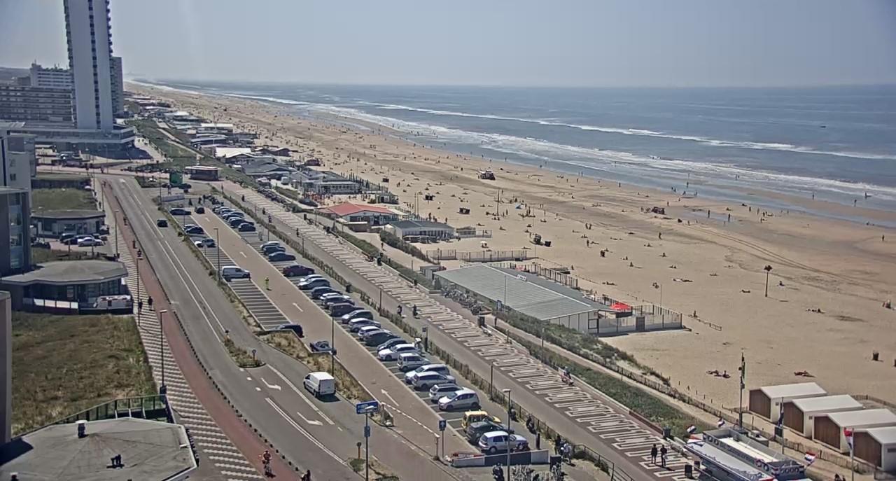 Strand van Zandvoort coronaproef?