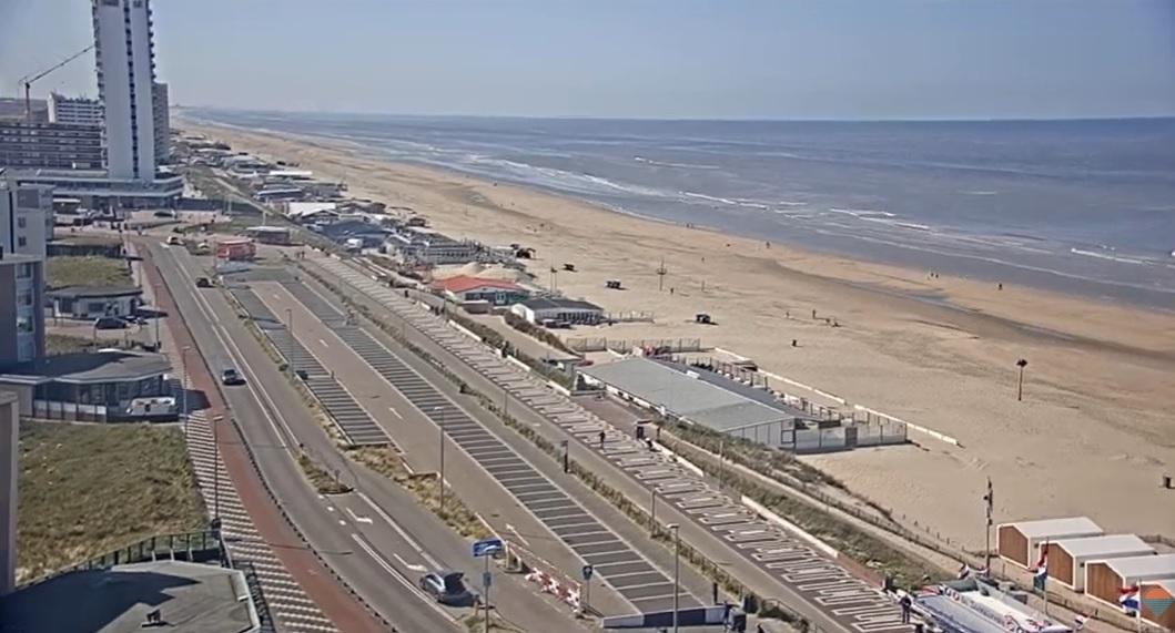 Gemeente Zandvoort: kom niet naar het strand