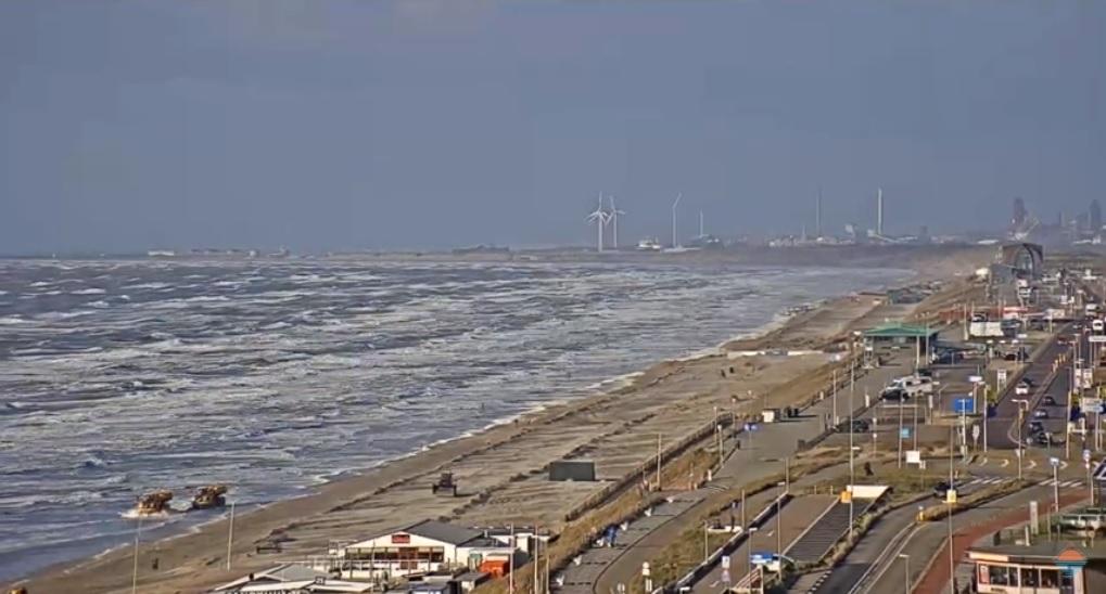 Het strandweer voor vrijdag 13 maart