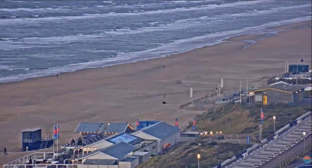 Het strandweer voor maandag 12 oktober