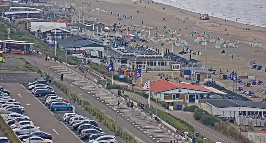 Inbreker strandpaviljoen Zandvoort betrapt