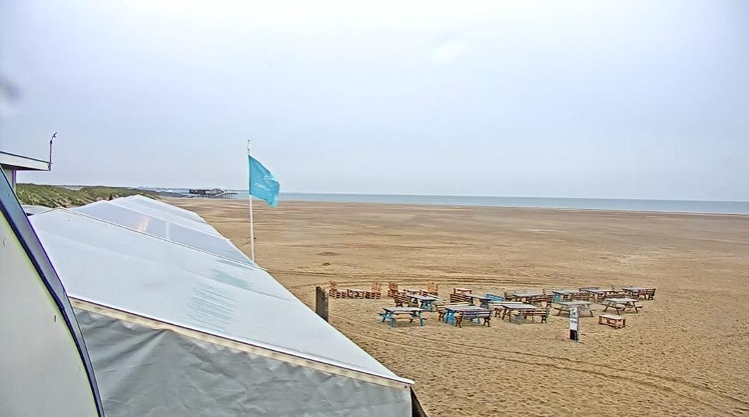 Regenachtig strandweer voor donderdag 3 september