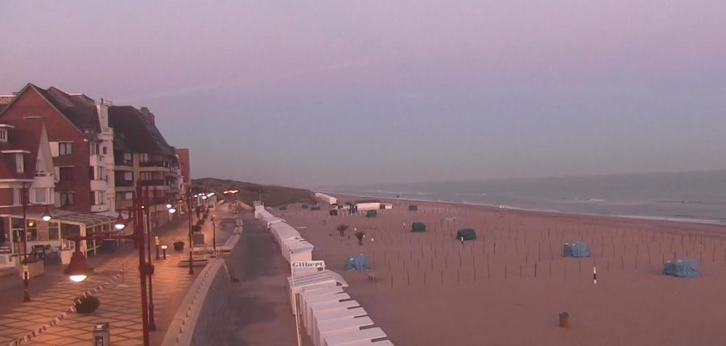 Het strandweer voor maandag 7 september