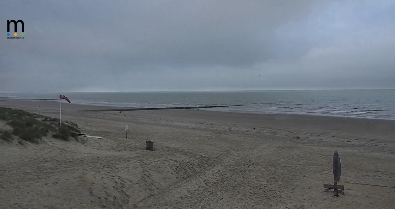 Het strandweer voor woensdag 9 september