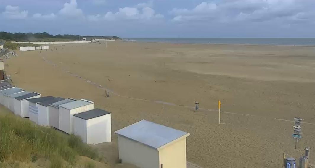 Het strandweer voor maandag 24 augustus