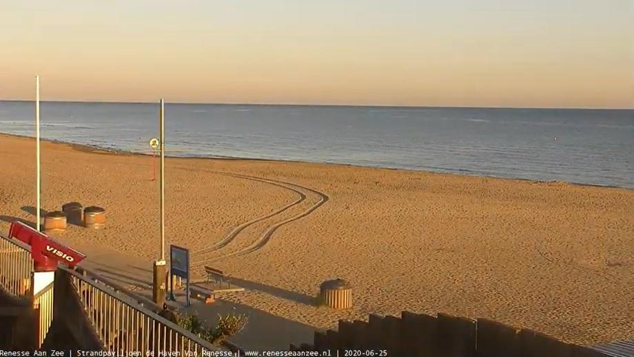 Het strandweer voor donderdag 25 juni