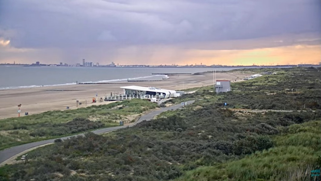 Het strandweer voor maandag 31 augustus