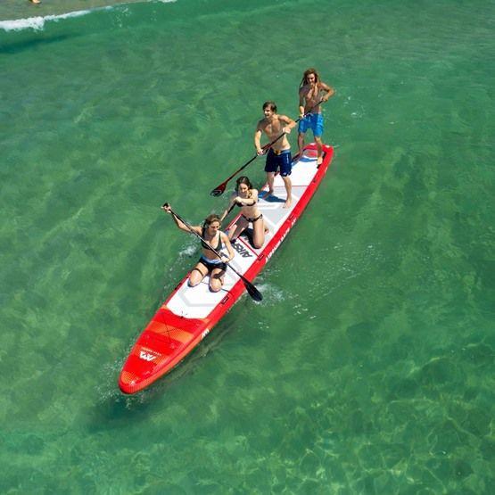 Top vier voordelen van een opblaasbaar paddleboard